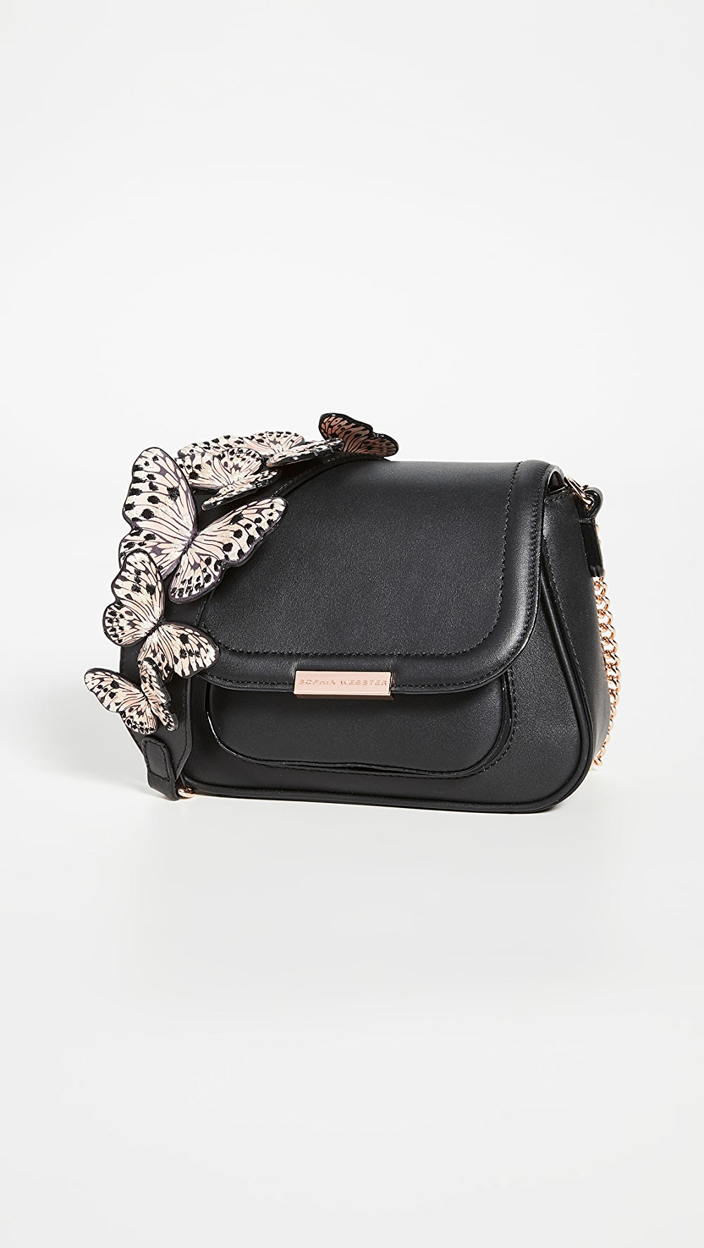 Capable Sophia Webster - Mini Eloise Butterfly Shoulder Bag Cool In Summer And Warm In Winter