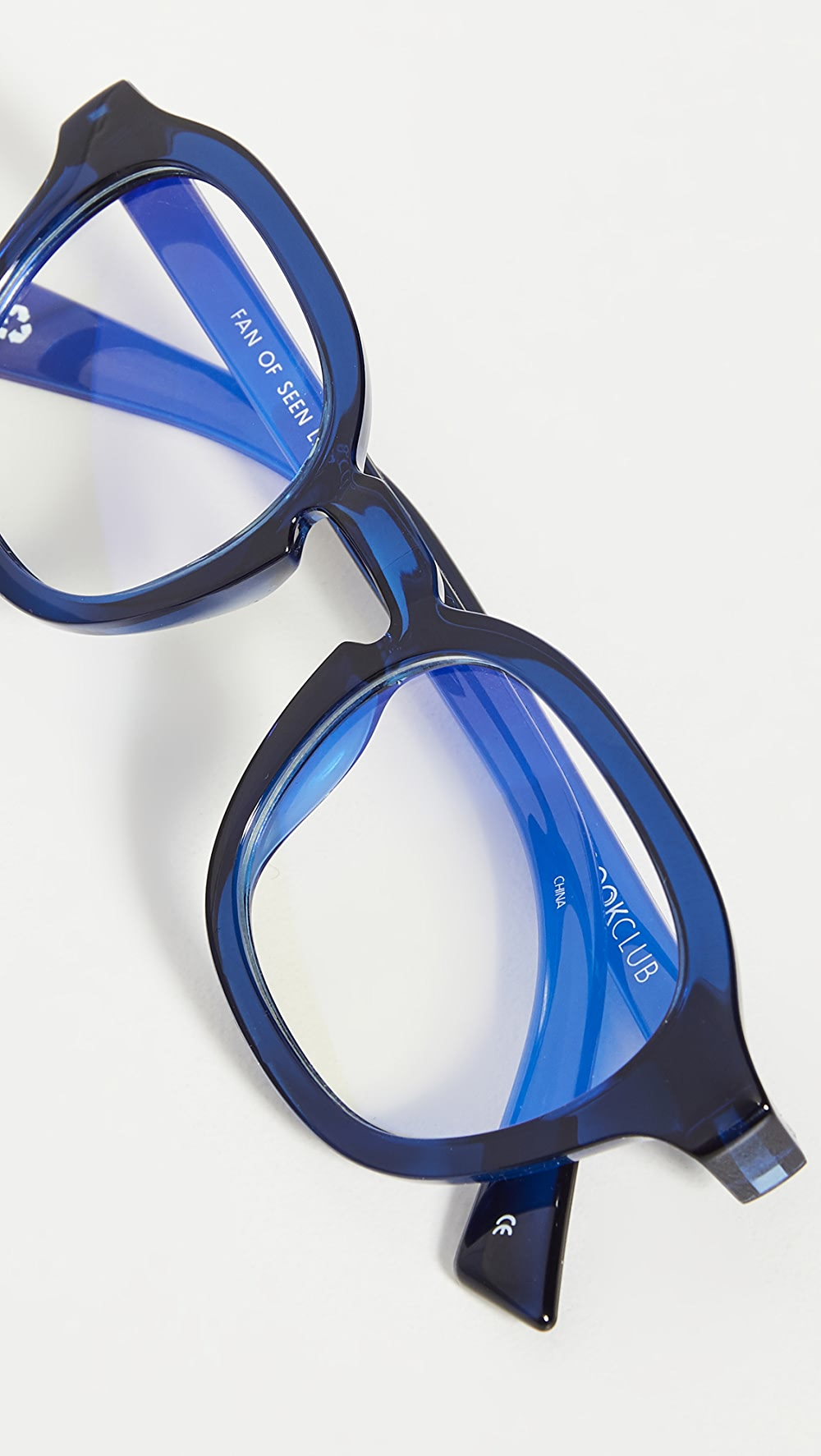 Alert The Book Club - Fan Of Seen Labels Blue Light Glasses Save 50-70%