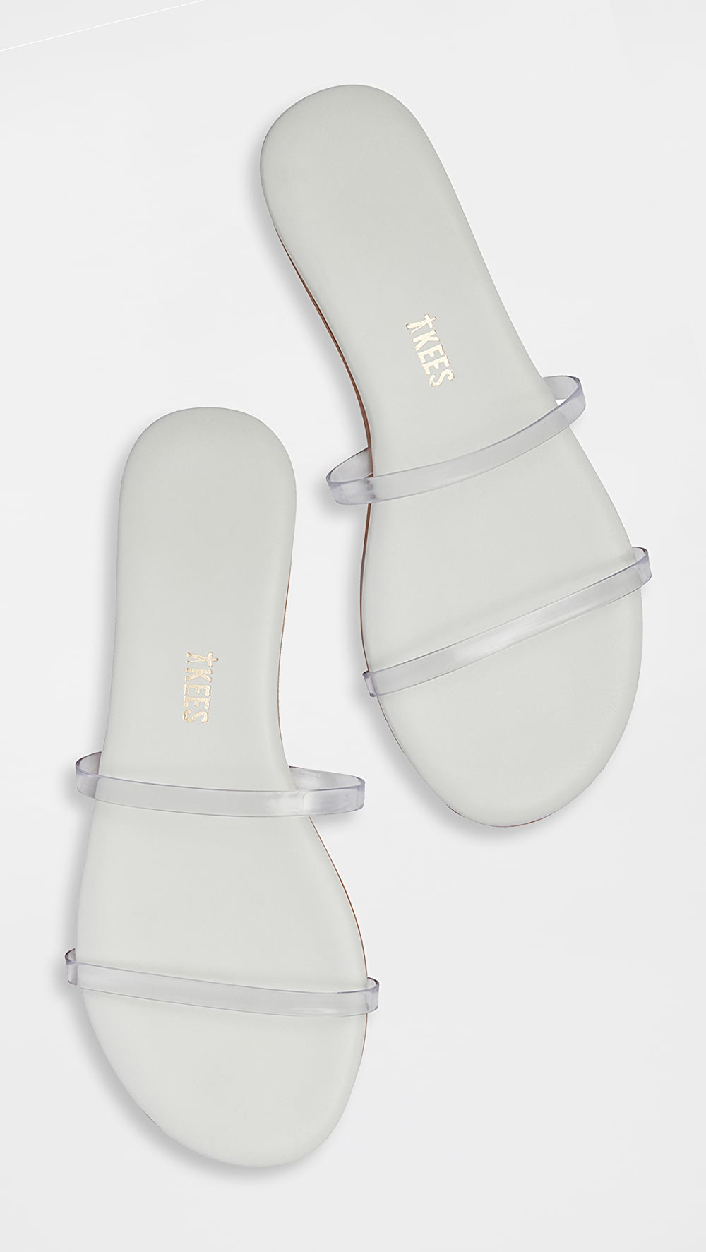 Romantic Tkees - Clear Slides Bright And Translucent In Appearance