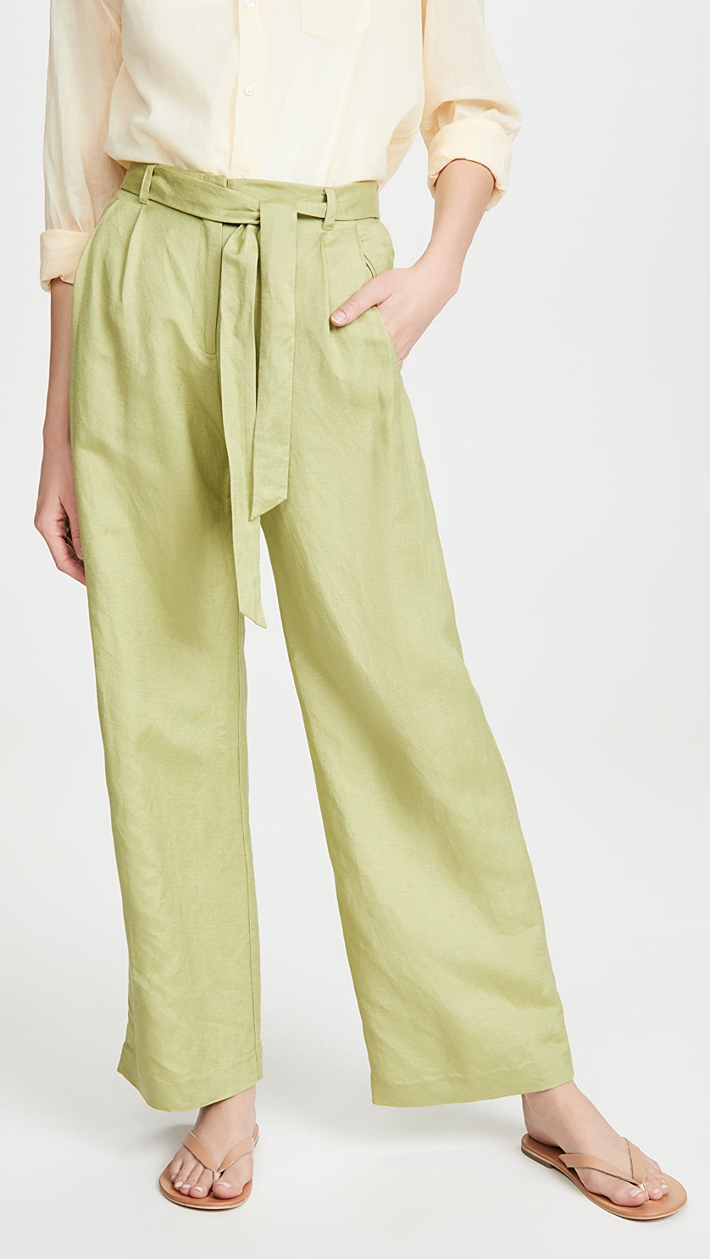 Alert Veda - Joaquin Linen Trousers Wide Selection;