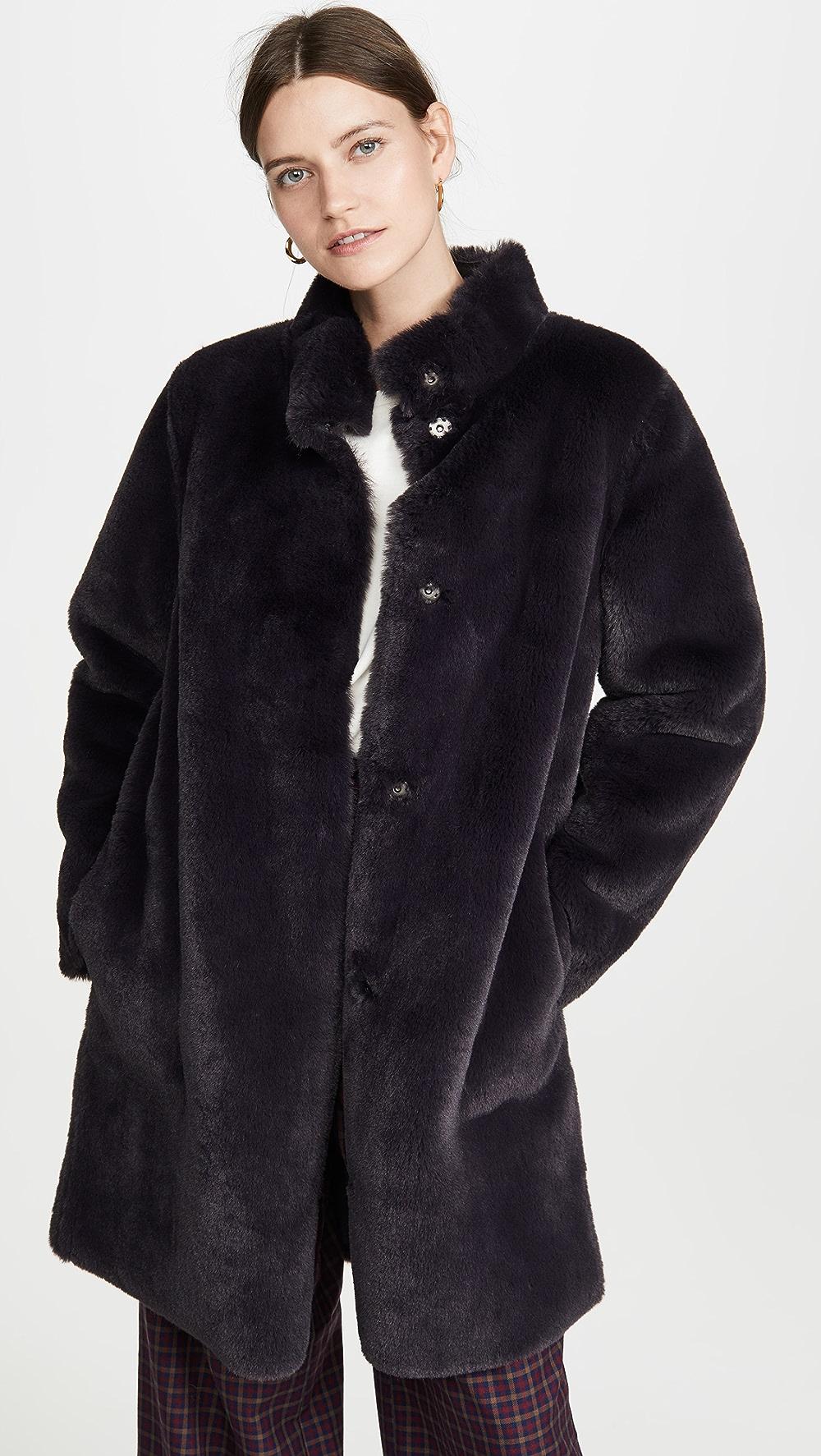 Smart Velvet - Mina Coat High Quality And Inexpensive
