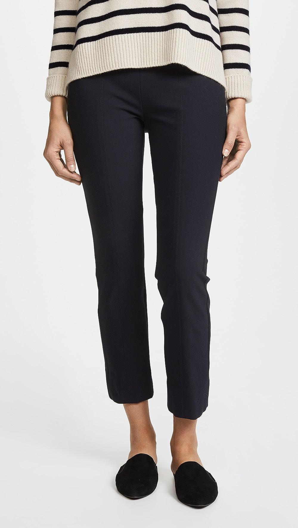 100% Quality Vince - Stitch Front Seam Legging Pants Shrink-Proof