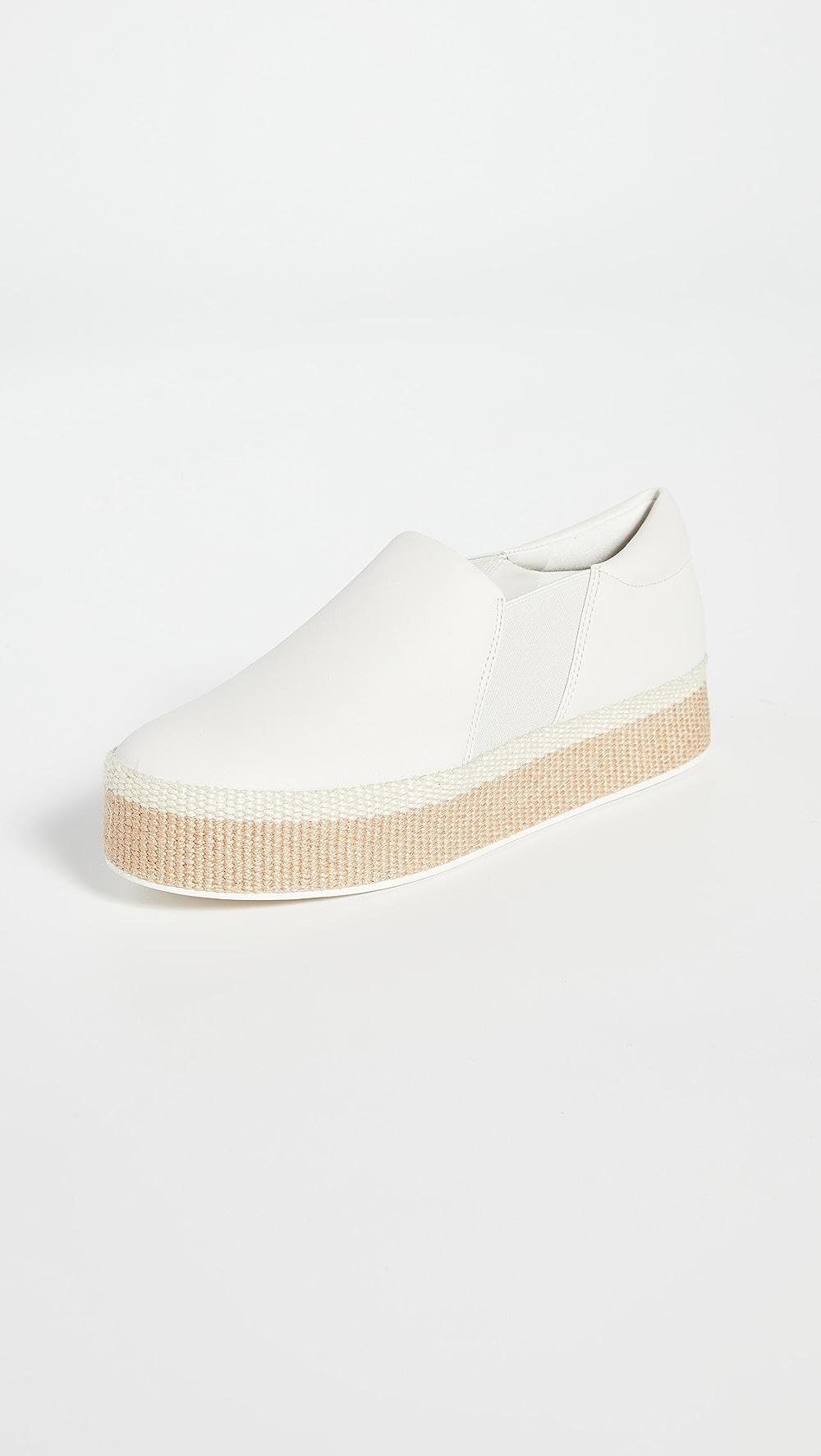 100% True Vince - Wilden Slip On Sneakers Easy To Lubricate