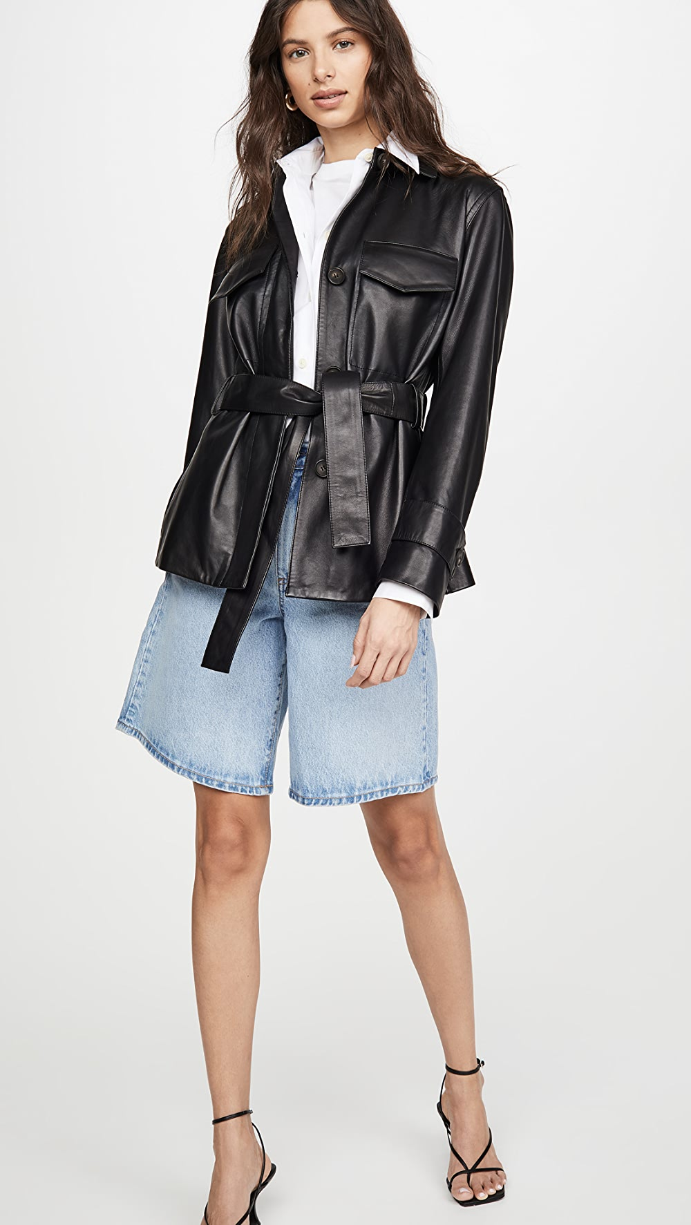 Able Vince - Leather Safari Jacket Curing Cough And Facilitating Expectoration And Relieving Hoarseness