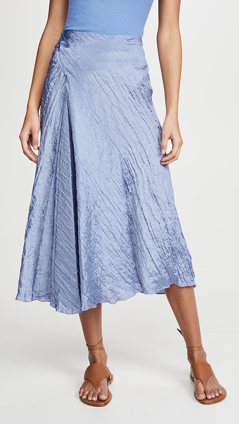 Audacious Vince - Textured Drape Skirt Customers First