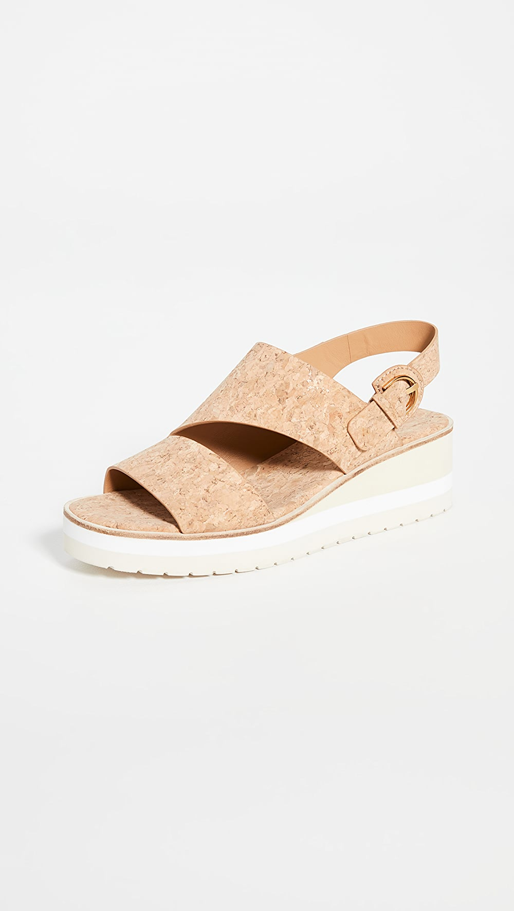 Generous Vince - Shelby Wedge Sandals Year-End Bargain Sale