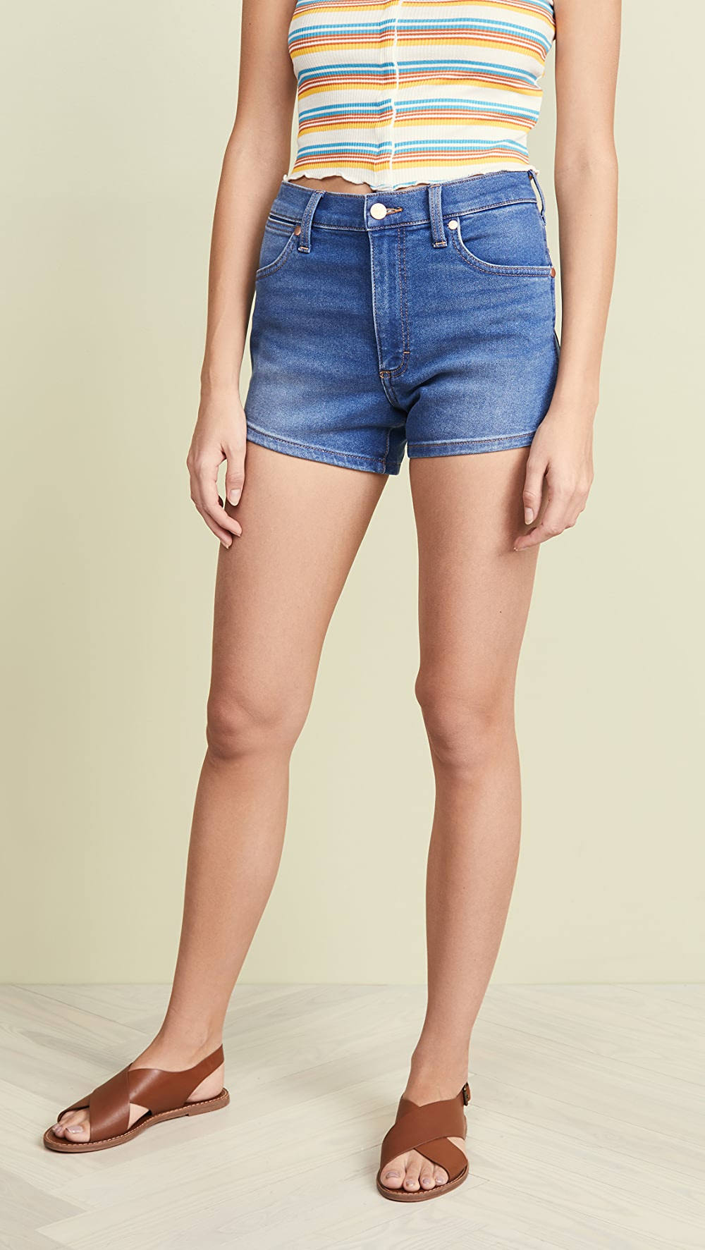 Able Wrangler - Pin Up Shorts Sturdy Construction