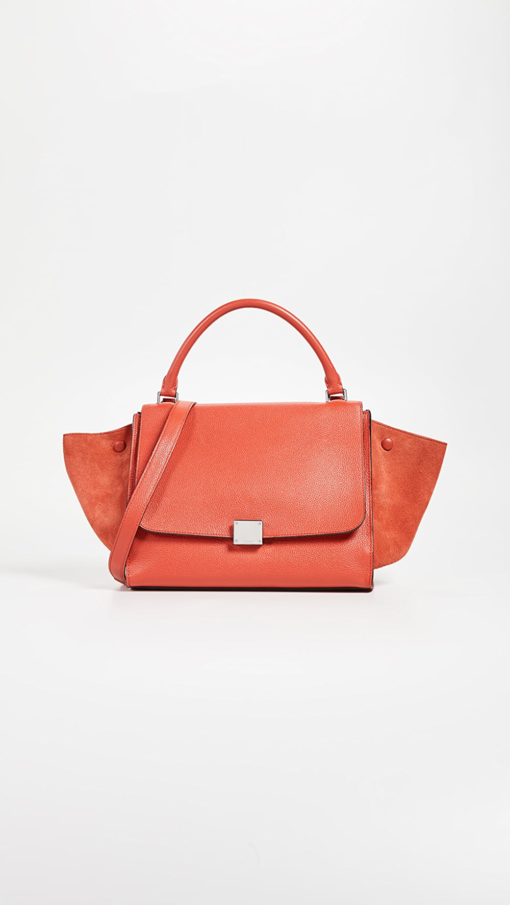 Beautiful What Goes Around Comes Around - Celine Leather Trapeze Bag Elegant Appearance