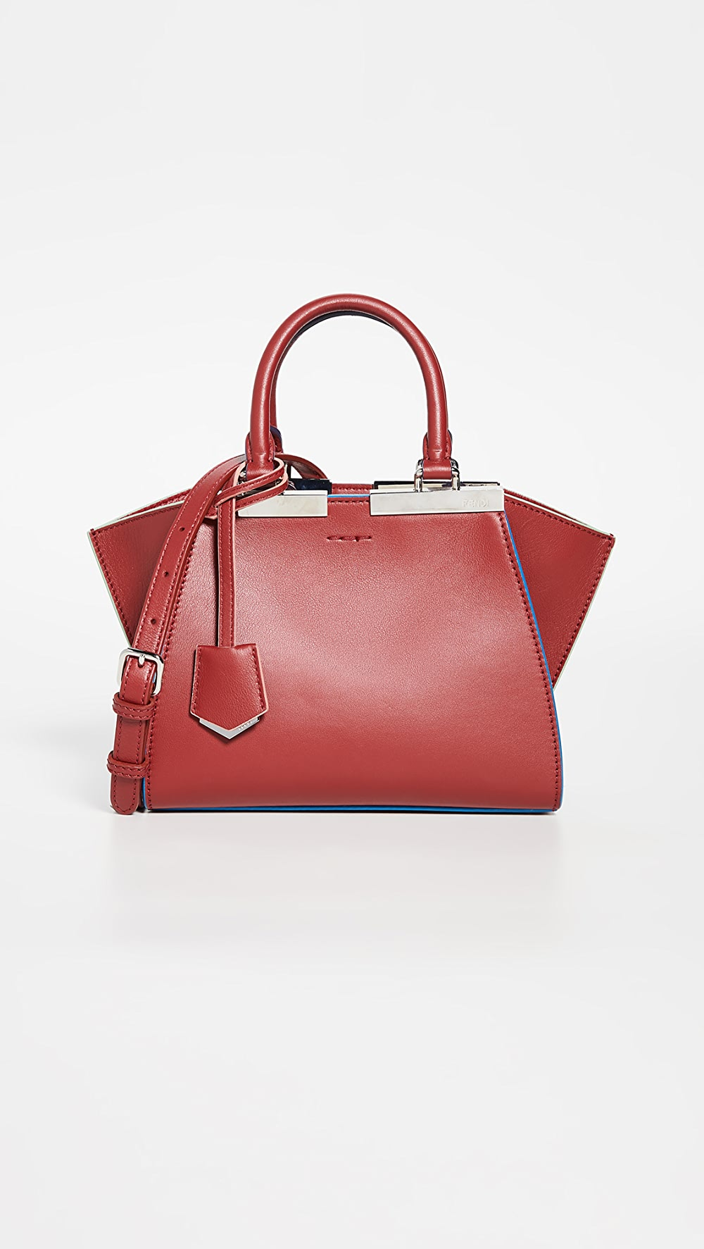 Sensible What Goes Around Comes Around - Fendi Red Leather Mini 3 Jours To Adopt Advanced Technology