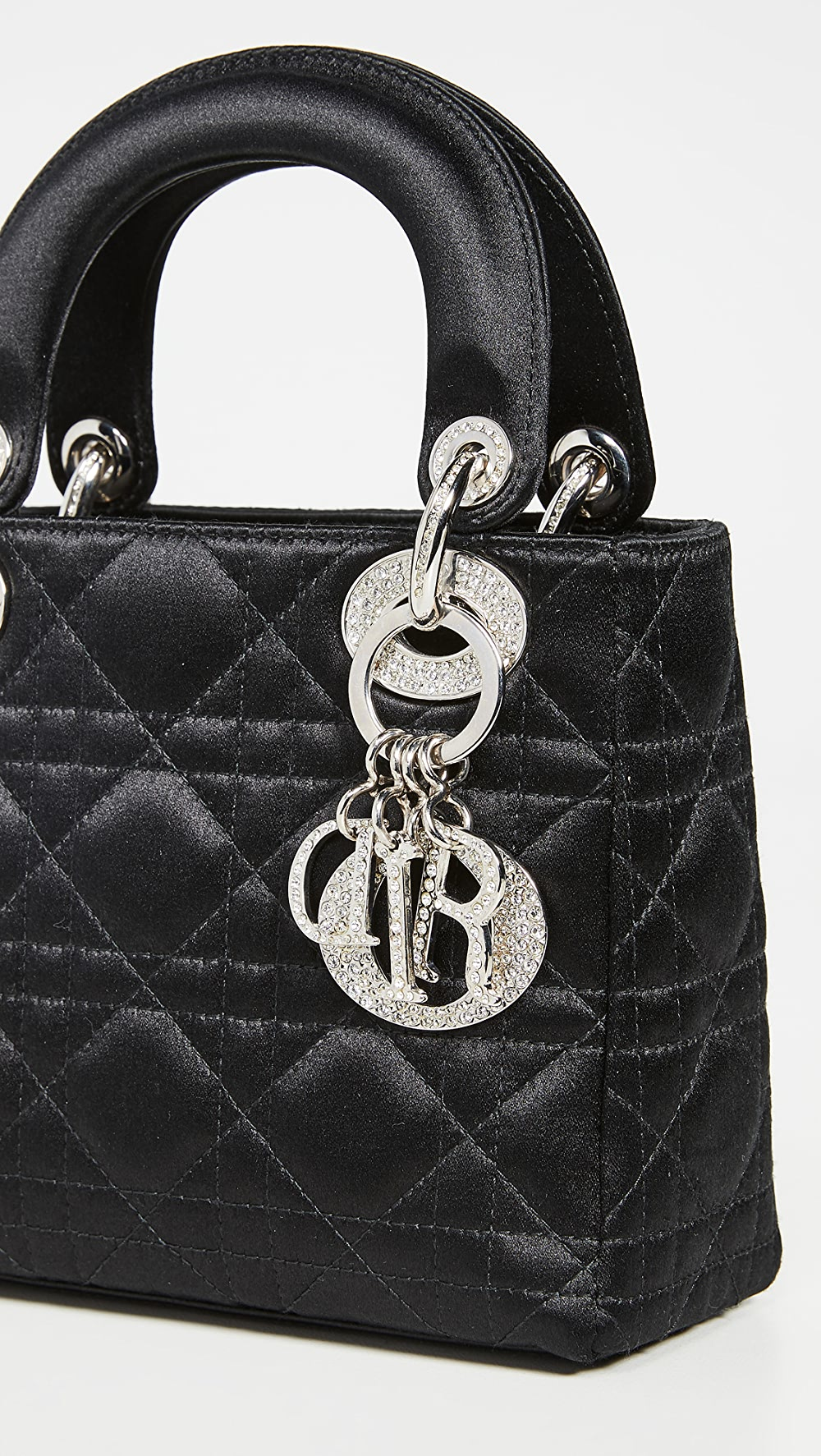 Brave What Goes Around Comes Around - Black Satin Lady Dior Mini Bag Pleasant To The Palate