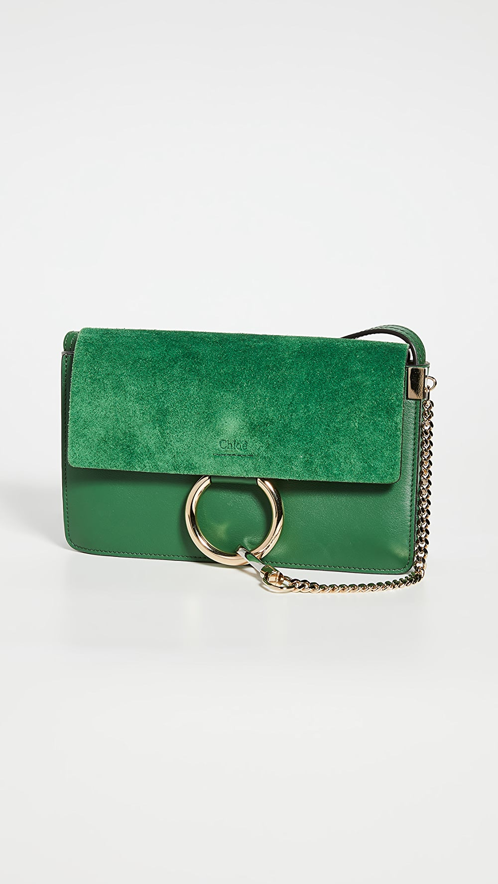 Capable What Goes Around Comes Around - Chloe Green Faye Bag Keep You Fit All The Time