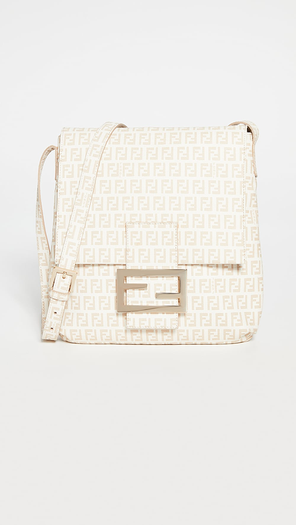 The Best What Goes Around Comes Around - Fendi White Messenger Bag Promoting Health And Curing Diseases