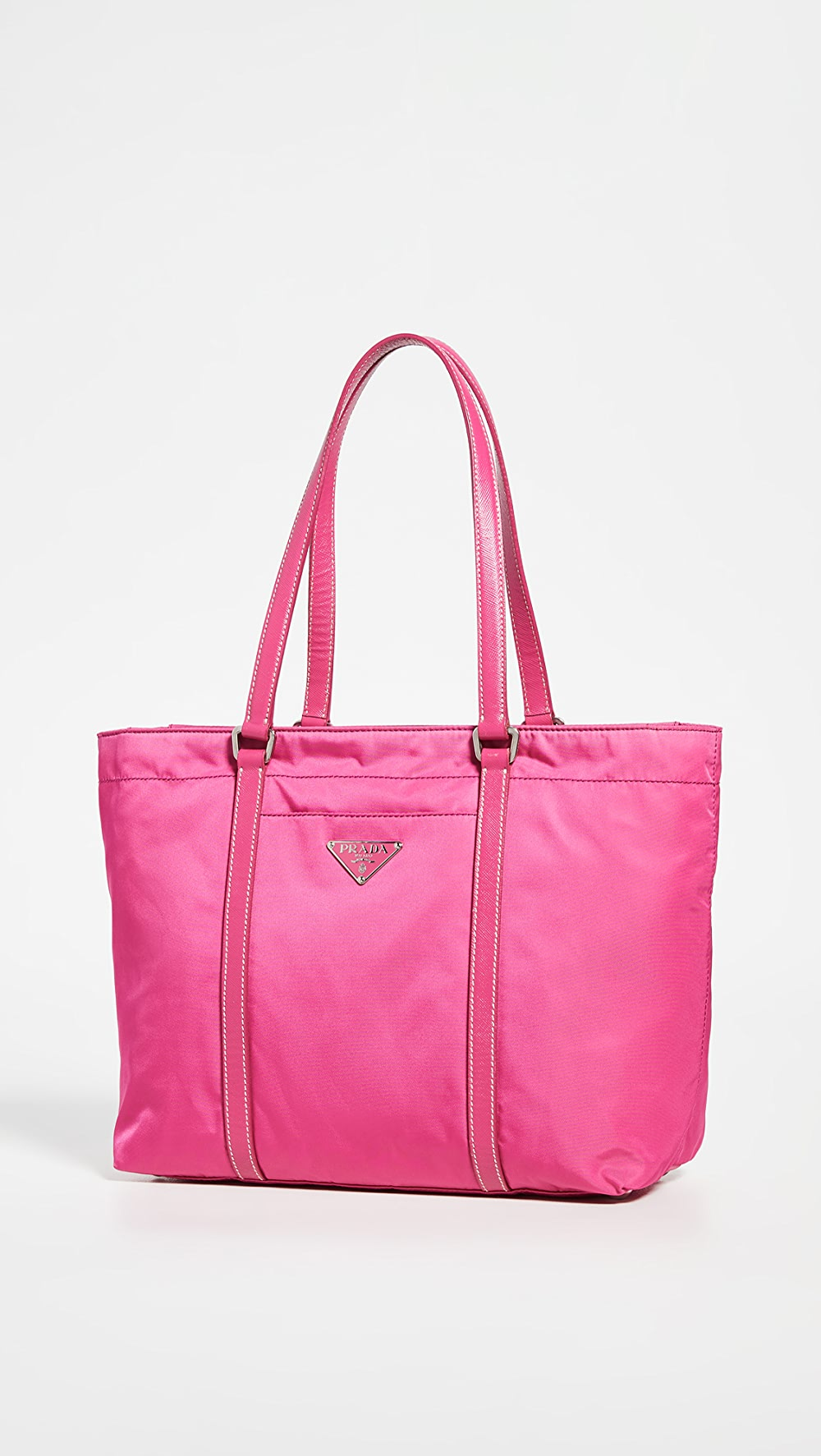 Active What Goes Around Comes Around - Prada Pink Tessuto Tote Relieving Heat And Thirst.