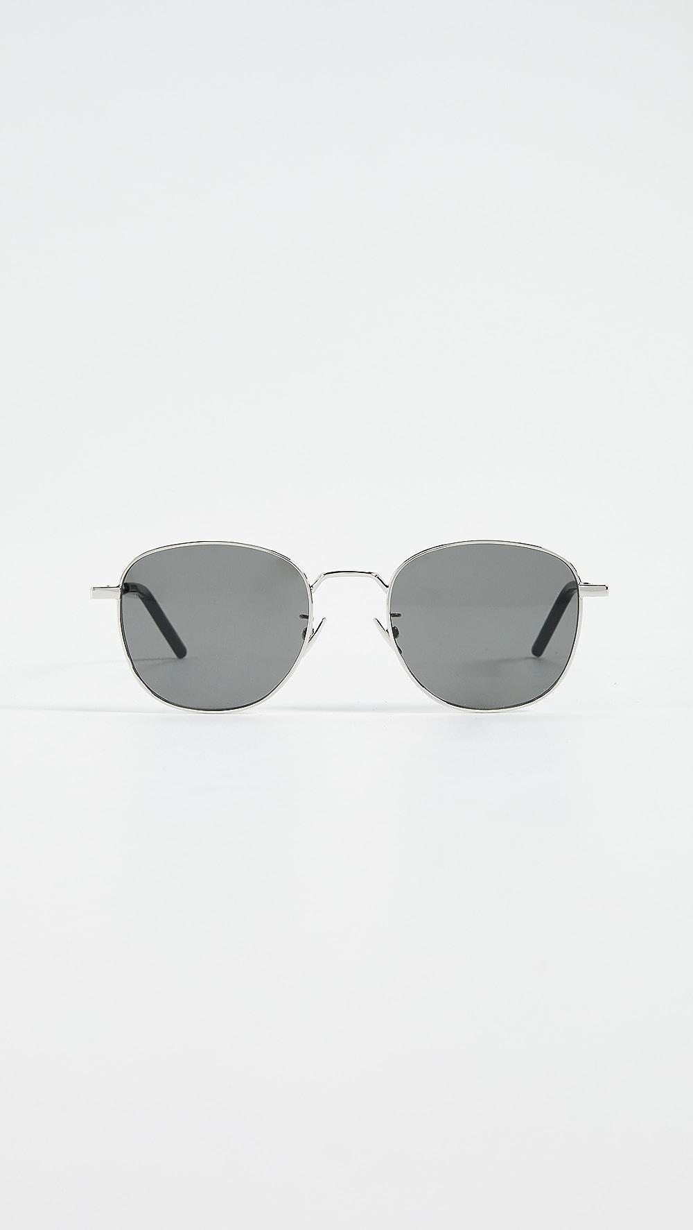 Alert Saint Laurent - Classic Soft Square Metal Sunglasses Good Reputation Over The World