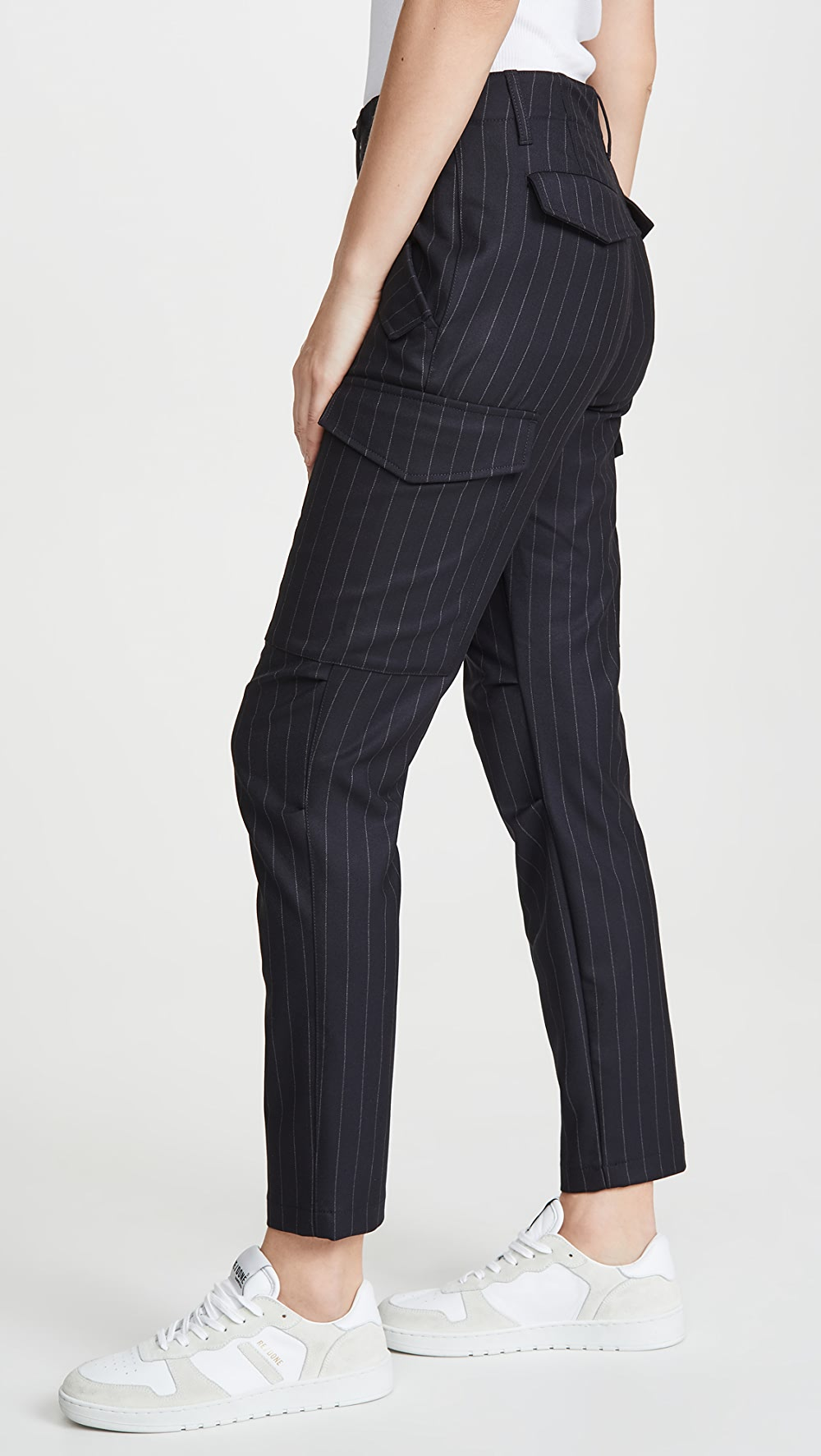 Cheap Sale Zadig & Voltaire - Palmy Pinstripe Pants Neither Too Hard Nor Too Soft
