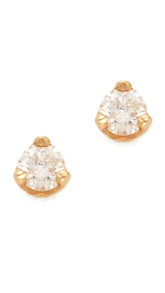 Bright Zoe Chicco - Diamond Prong Stud Earrings New Varieties Are Introduced One After Another