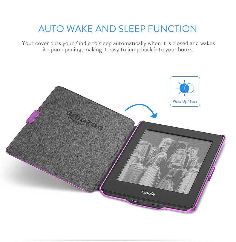 Amazon Protective Cover For Kindle Paperwhite White Fits All