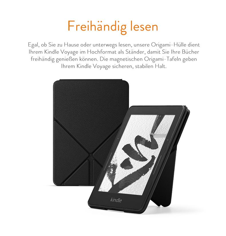 Origami Lederhülle für Kindle Voyage, Rot: Amazon.de: Kindle-Shop