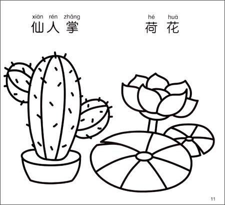 《小手握笔幼儿简笔画:植物》 李燕【摘要 书评 试读
