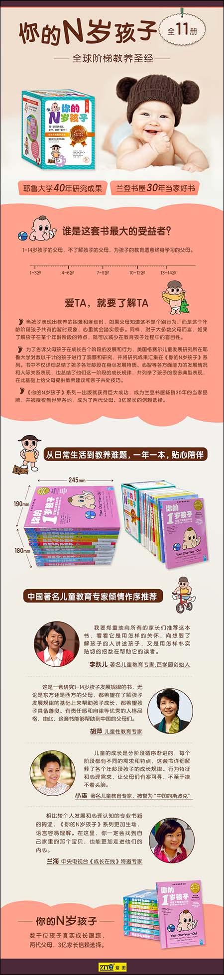 《你的N岁孩子:全球阶梯教养圣经(套装共11册)》kindle电子书