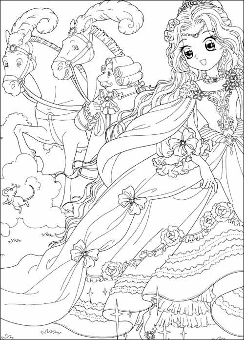 《美少女填色:灰姑娘的公主party(狂欢版)(附贴纸100)