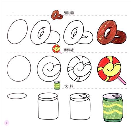 《幼儿创意联想画:可口食物(3岁以上适用)》 联智文化
