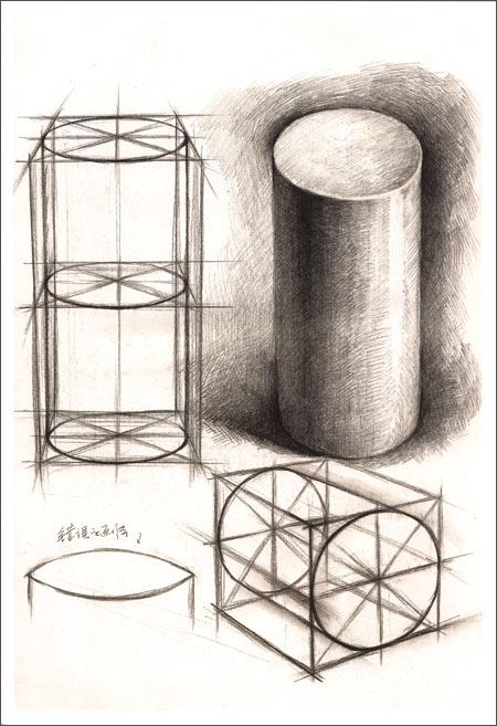 结构&明暗3:几何体结构明暗对比范本(黄金典藏版) 已加入购物车