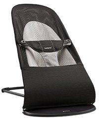Bouncer Balance Soft 平衡型柔软婴儿摇椅 深灰/灰色 针织棉面料