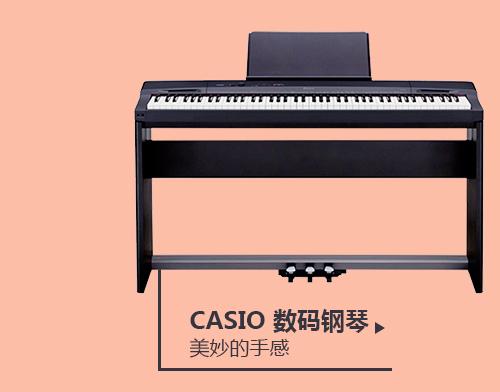 CASIO卡西欧 PX-160BK Privia系列88键数码钢琴套装