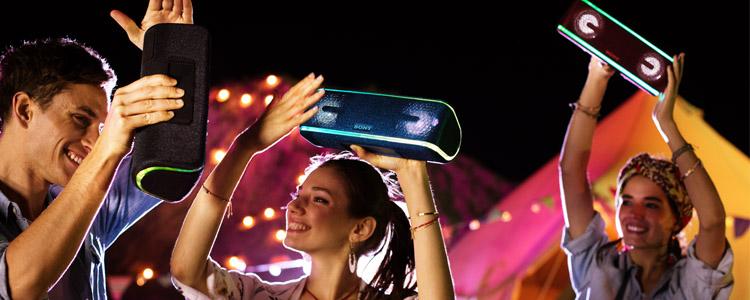 索尼音箱新品上市  燃烧你的派对