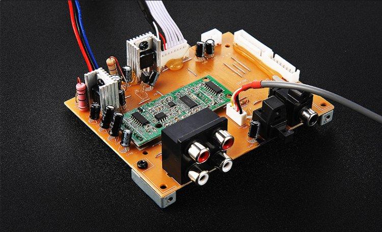 microlab麦博 solo9c多媒体有源音箱 木纹色