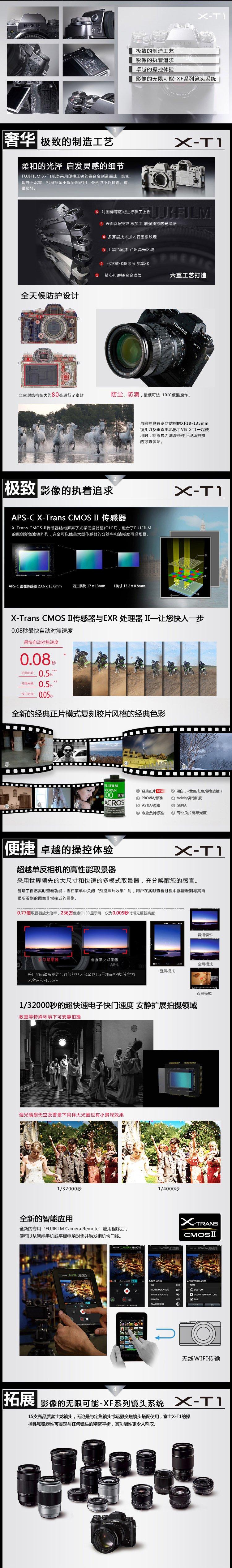 富士X-T1 碳晶灰 图片12