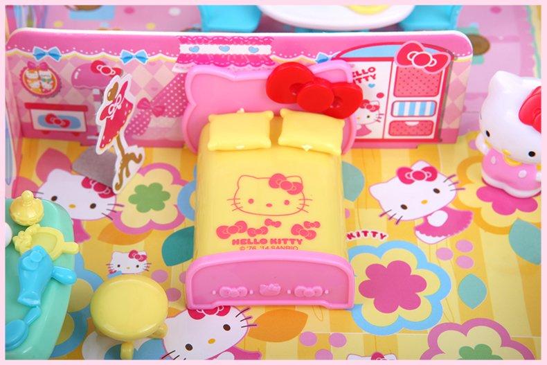 SANRIO 三丽欧 Hello Kitty 凯蒂猫 家居套装 过家家玩具KT-50061