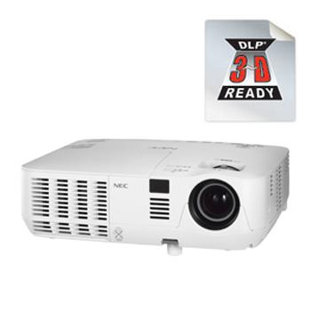 NEC V260W+ 家庭影院投影机单台投影机直接关机功能