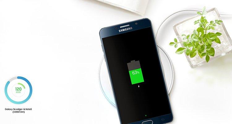 samsung 三星 s6 edge  / note5 手机 快充无线充电器图片