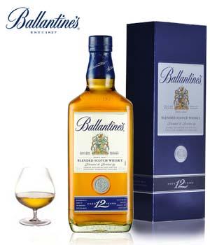 Ballantine's百龄坛12年苏格兰威士忌700ml