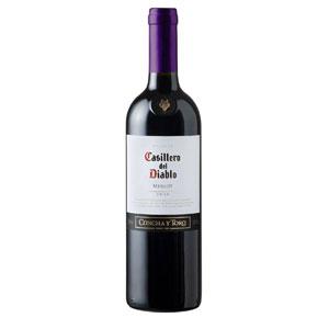 红魔鬼梅洛红葡萄酒