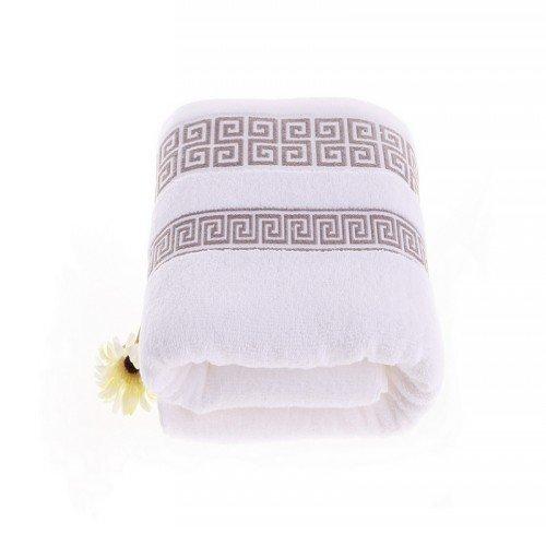 锦和家爱琴海浴巾白色jh13-03b