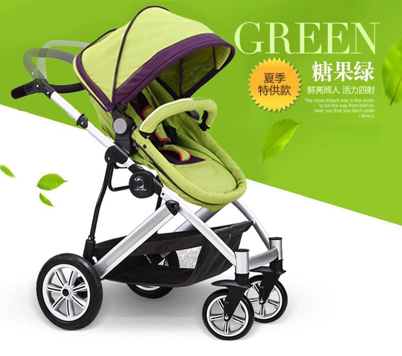 普通婴儿推车:普通婴儿推车使用时,宝宝的鼻孔正对着汽车尾气管,爸爸