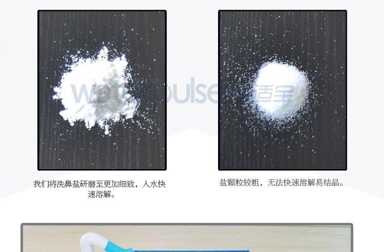 Waterpulse健适宝洗鼻器套装YT-300蓝色