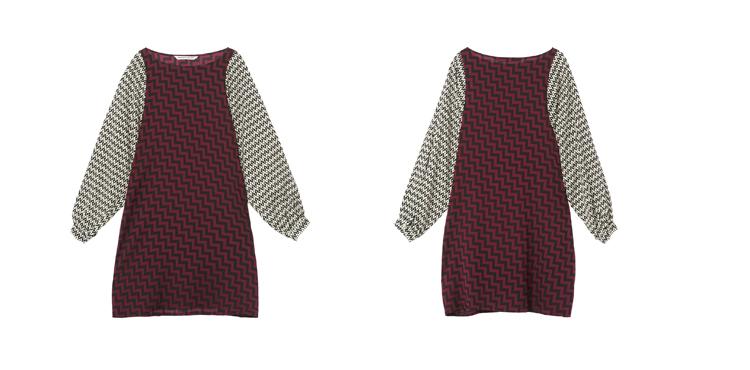 69  裙子 69  连衣裙  69  休闲  宽松的廓形,复古的灯笼袖设计