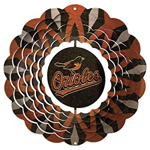 Iron Stop Baltimore Orioles Wind Spinner