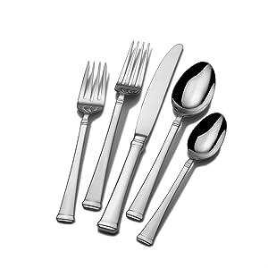 mikasa,flatware, forks, knives, sets, dinnerware
