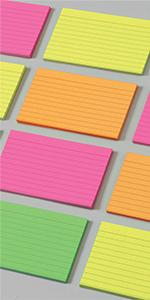 Oxford Color Index Cards