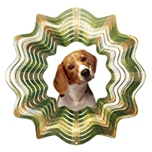 Iron Stop Beagle Wind Spinner