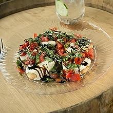 salad;lunch;luncheon;dinner;birthday;pizza