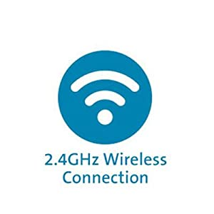 Plug & Play 2.4GHz Wireless Connection