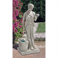 garden fountains, outdoor fountains