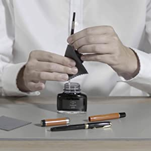 How to refill your fountain pen - step 4