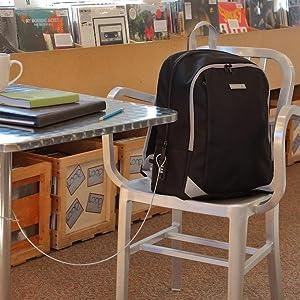 Locking Backpack ...for Work